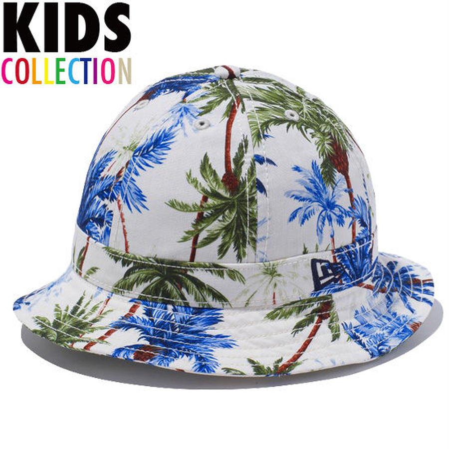 【 NEW ERA KID'S/ ニューエラ キッズ 】Explorer Palm Tree  ハット/ホワイトパームツリー