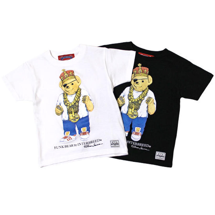 "【 INTERBREED / インターブリード 】BEAR ""Slick Rick"" KIDS Tee"