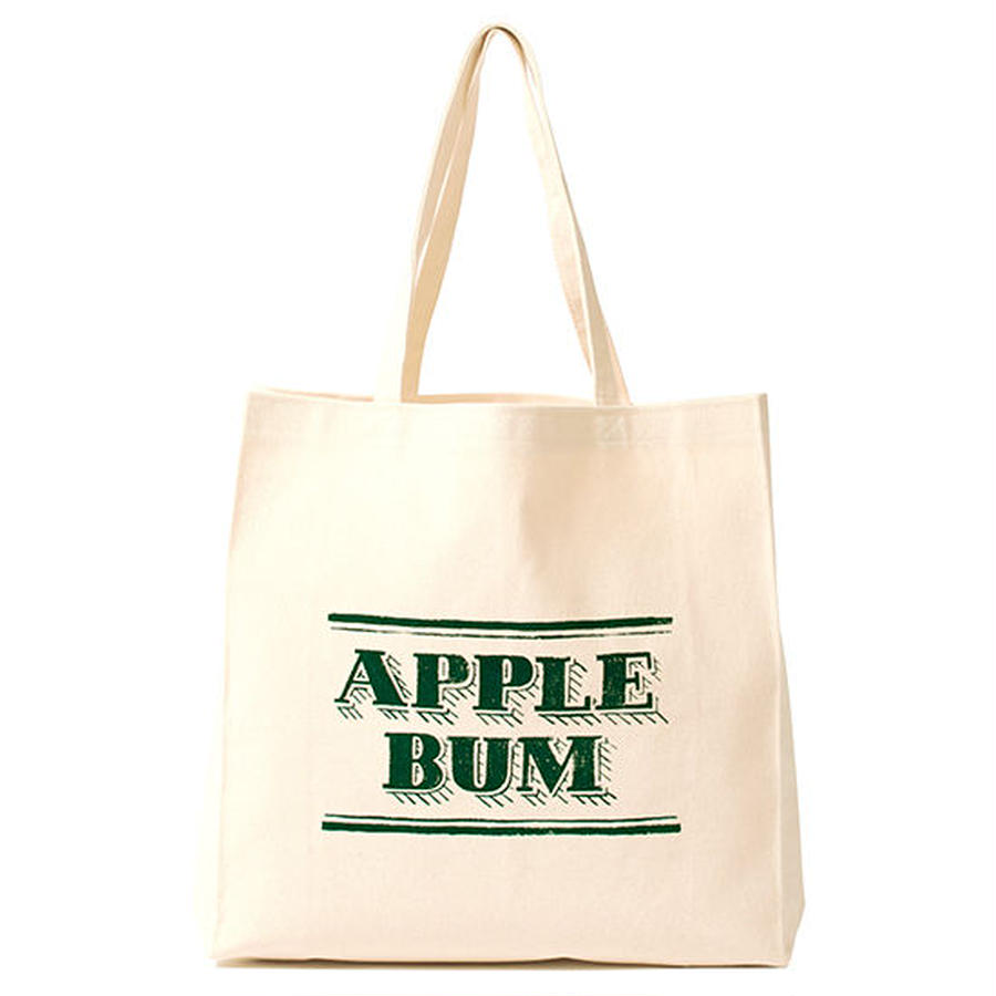 【 APPLEBUM / アップルバム キッズ 】Chalk Logo Canvas Totebag