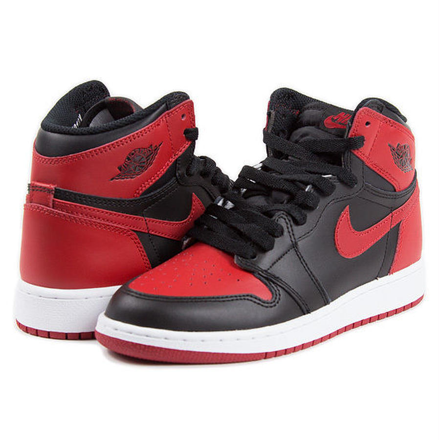 【JORDAN/ジョーダン】Nike Air Jordan 1 Retro High OG BG BANNED