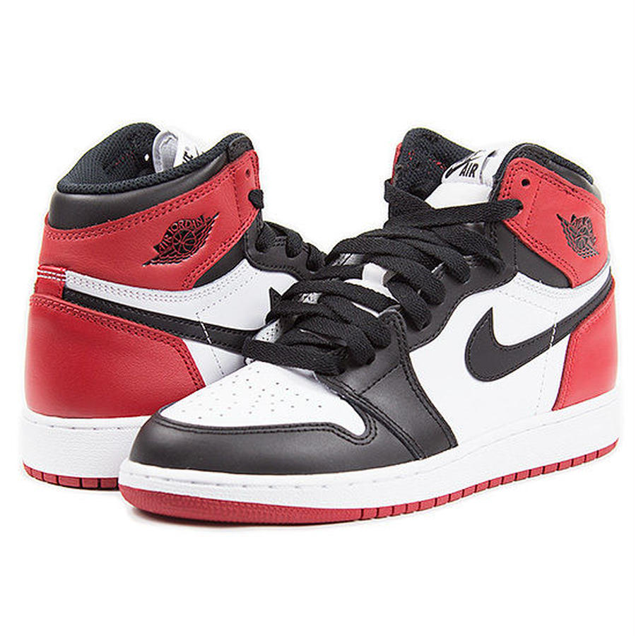 【JORDAN/ジョーダン】Nike Air Jordan 1 Retro High OG BG BLACK TOE