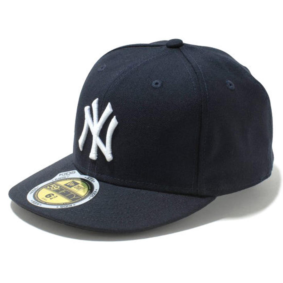 【 NEW ERA / ニューエラ 】KIDS 59FIFTY オンフィールド ニューヨーク・ヤンキース キャップ