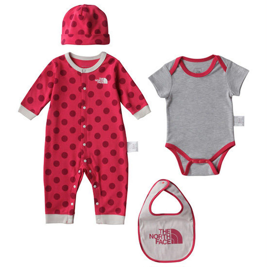 【THE NORTH FACE / ノースフェイス キッズ】BABY Rompers Set