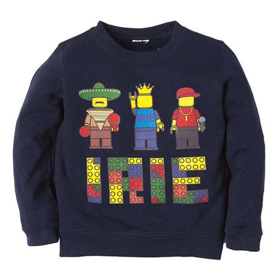 【 IRIE LIFE KID'S / アイリーライフ キッズ】IRIE Block Kids Crew
