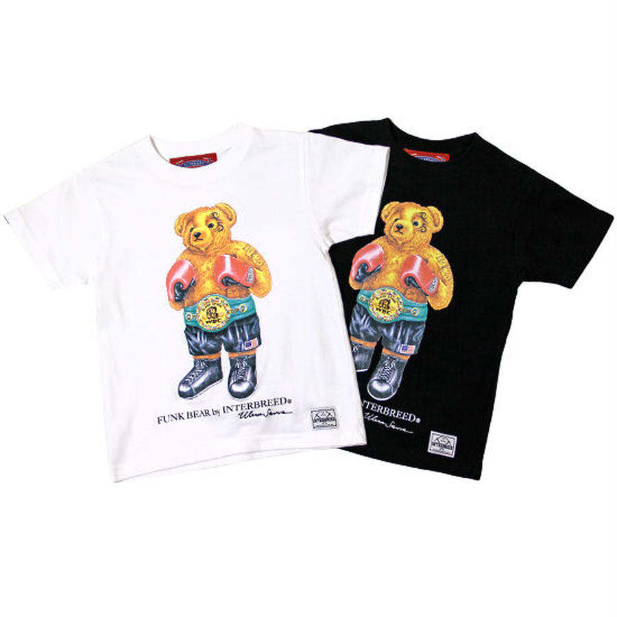 "【 INTERBREED / インターブリード 】BEAR ""Tyson"" KIDS Tee"