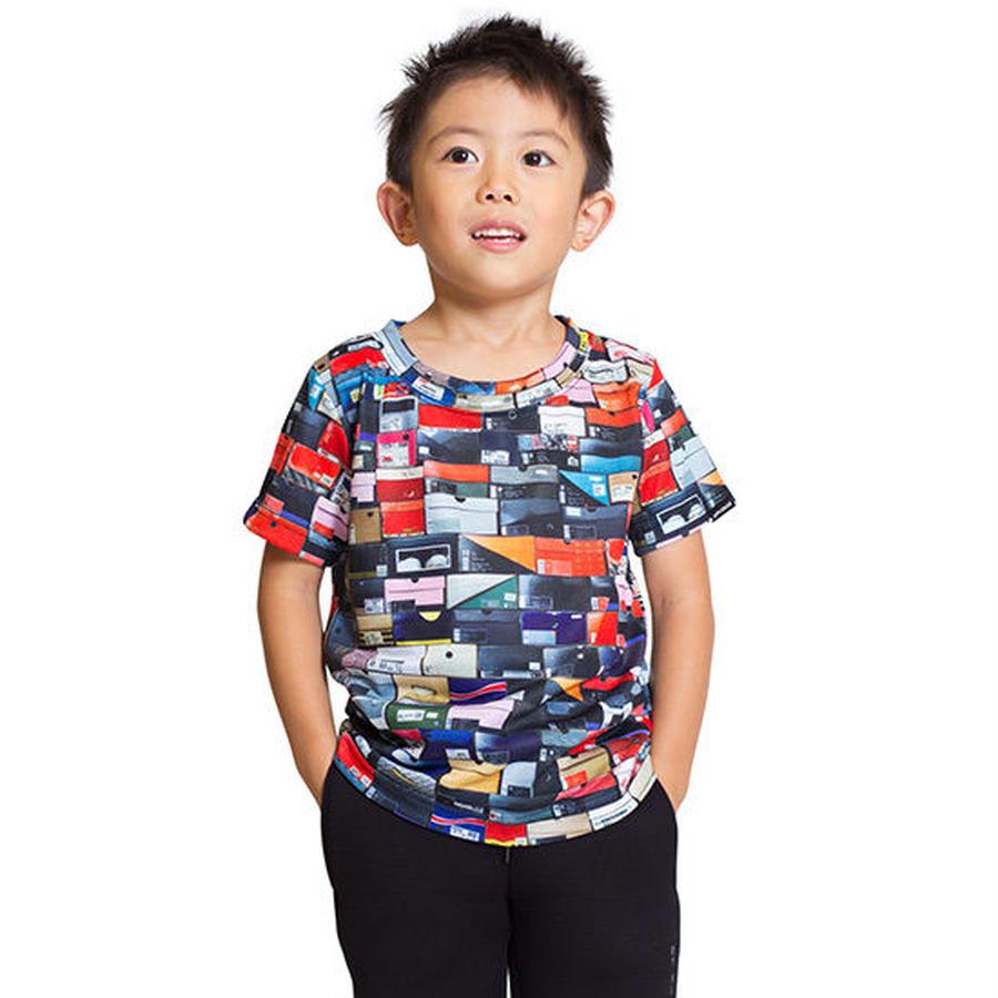【 APPLEBUM / アップルバム キッズ 】スニーカーボックスTシャツ