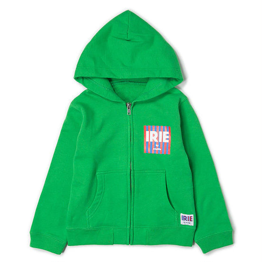 【 IRIE LIFE KID'S / アイリーライフ キッズ】Box Logo Kids Zip Up Hoodie