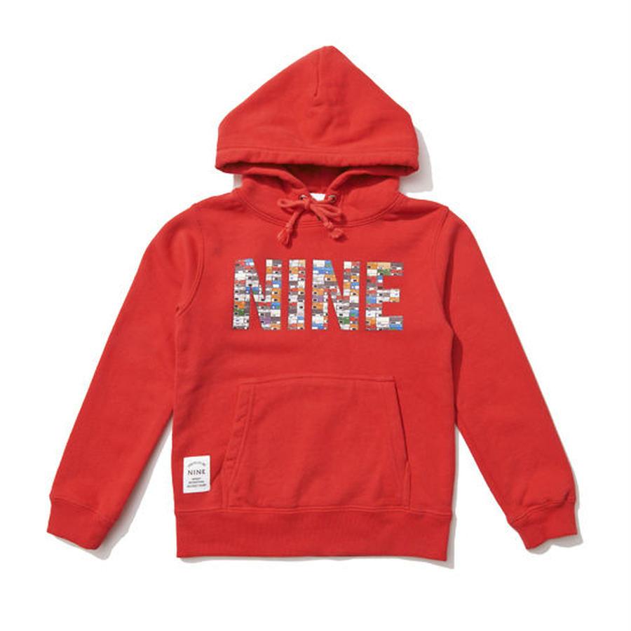 【NINE RULAZ / ナインルーラーズ 】Sneaker Box Logo Kids Hoodie