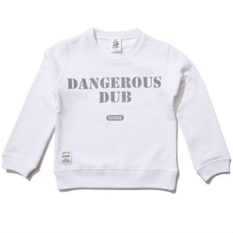 【NINE RULAZ / ナインルーラーズ 】 Dangerous Dub KIDS Crew Neck Sweat