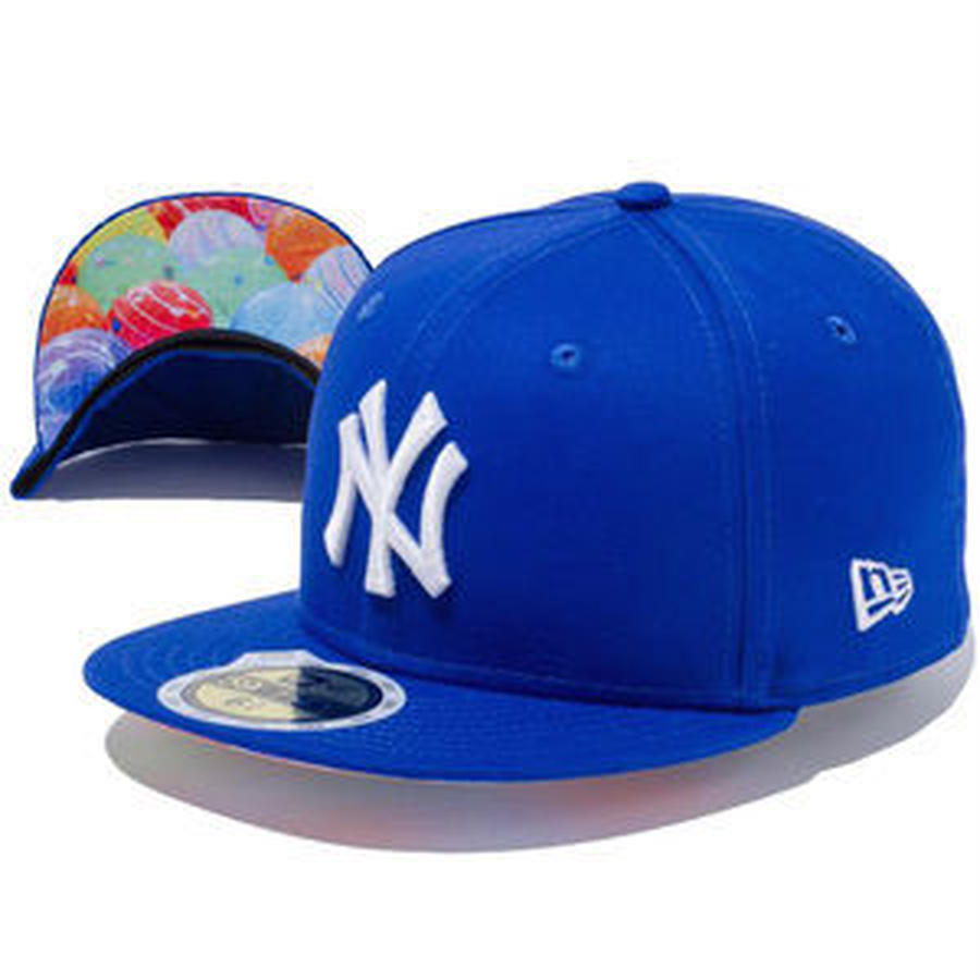【 NEW ERA KID'S/ ニューエラ キッズ 】 59FIFTY Water Balloon ニューヨーク ヤンキース キャップ