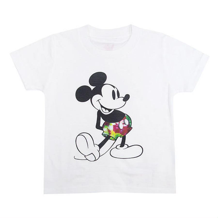 【 IRIE LIFE KID'S / アイリーライフ キッズ】IRIE Kids Tee (MICKEY MOUSE)/ホワイト