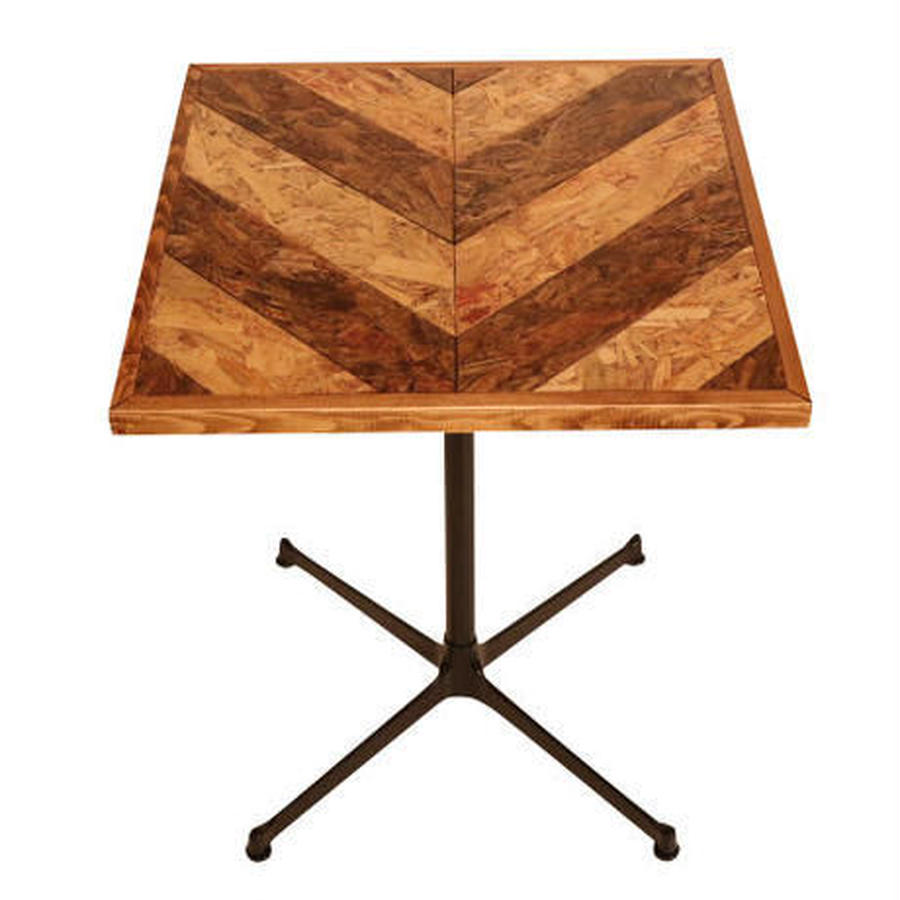OSB SQUARE TABLE HERRINGBONE