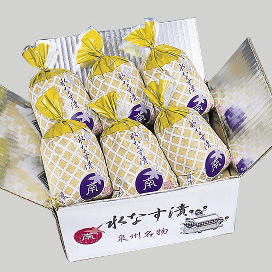 【33】特撰 水なすの浅漬(ぬか漬) 6個包装入