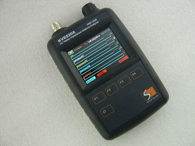 高品質低価格のラジオキットパ-ツ 専門通販ショップ【祐徳電子】            VHF / UHF 帯 アンテナアナライザー KVE520A  ( ZHW-MEAS-025 )