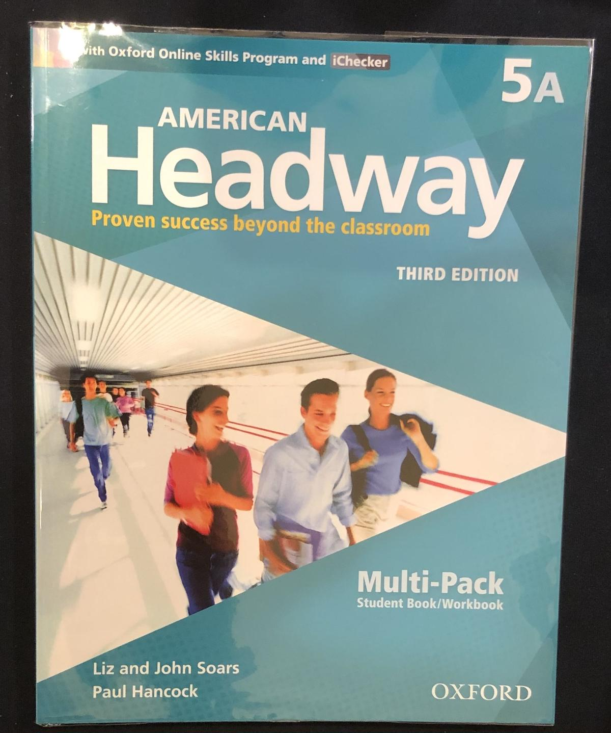 Level 5 Students Book+Oxford Online Skills Program Pack American Headway