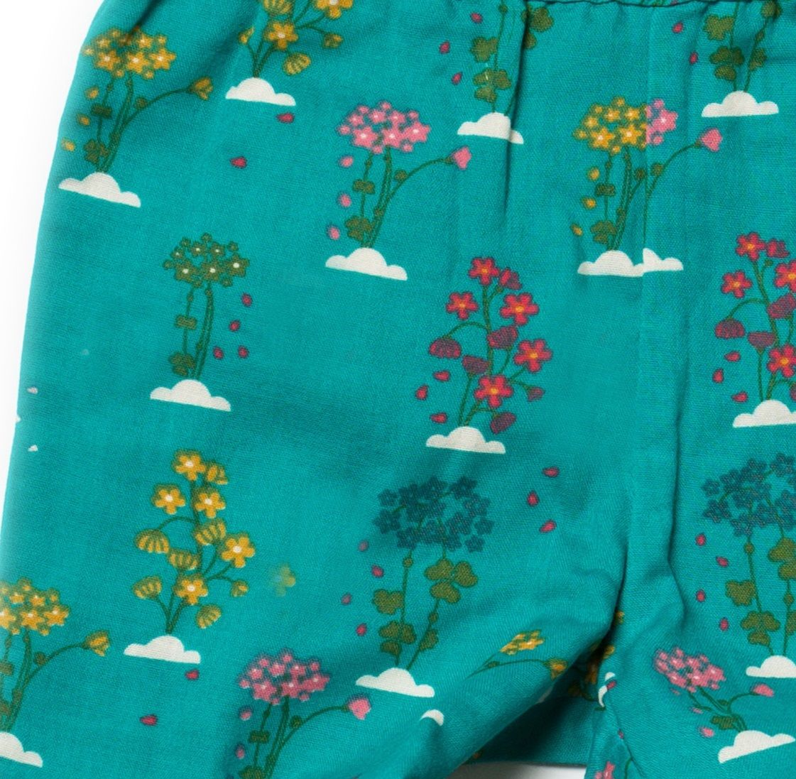 Little Green Radicals Botanical Jelly Bean Pants