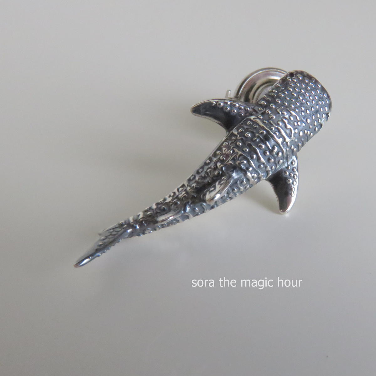 sora the magic hour jewelry            ジンベエザメ ネックレス Whale shark necklace