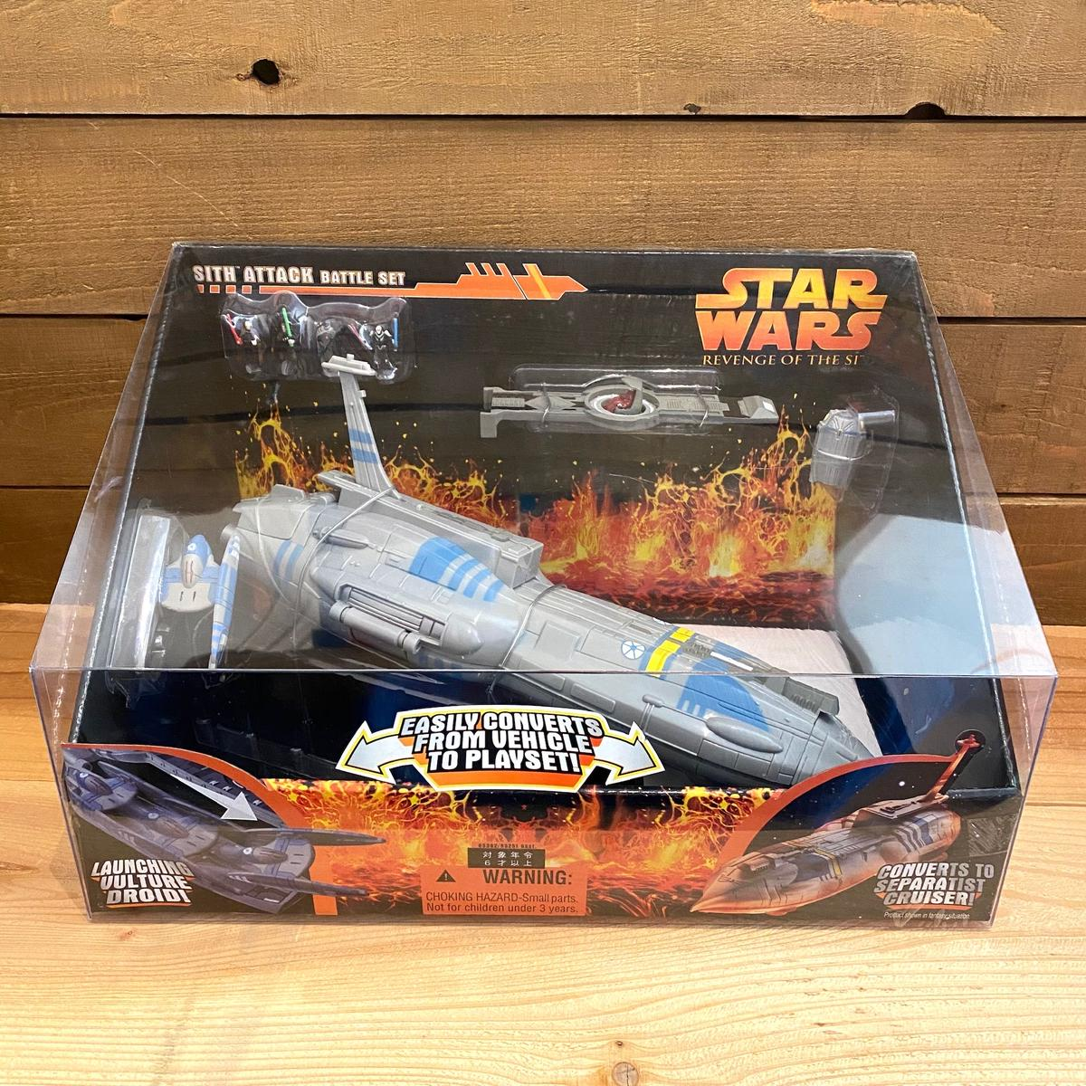 NEW #P1 Star Wars  MICRO MACHINES Trade Federation DROID STARFIGHTER