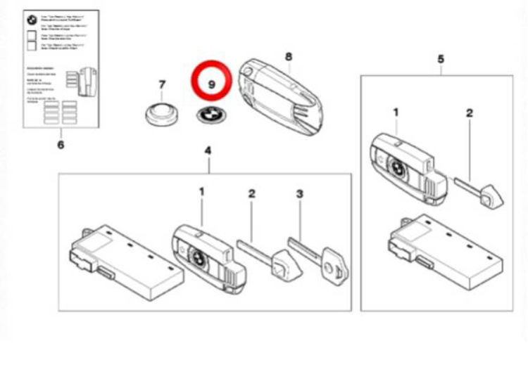 BMW M Technology M POWER Oil Filler Cap Black E90 E91 E92 E93