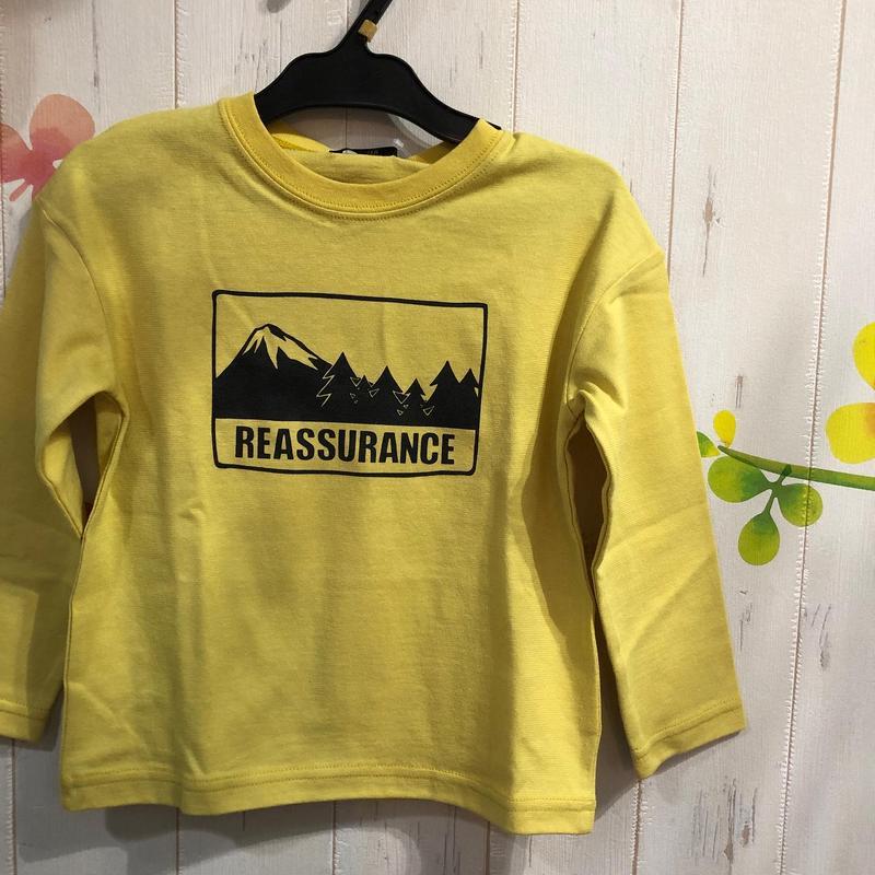 きれいな春色◎LBCLUBプリントTシャツ80-130センチ
