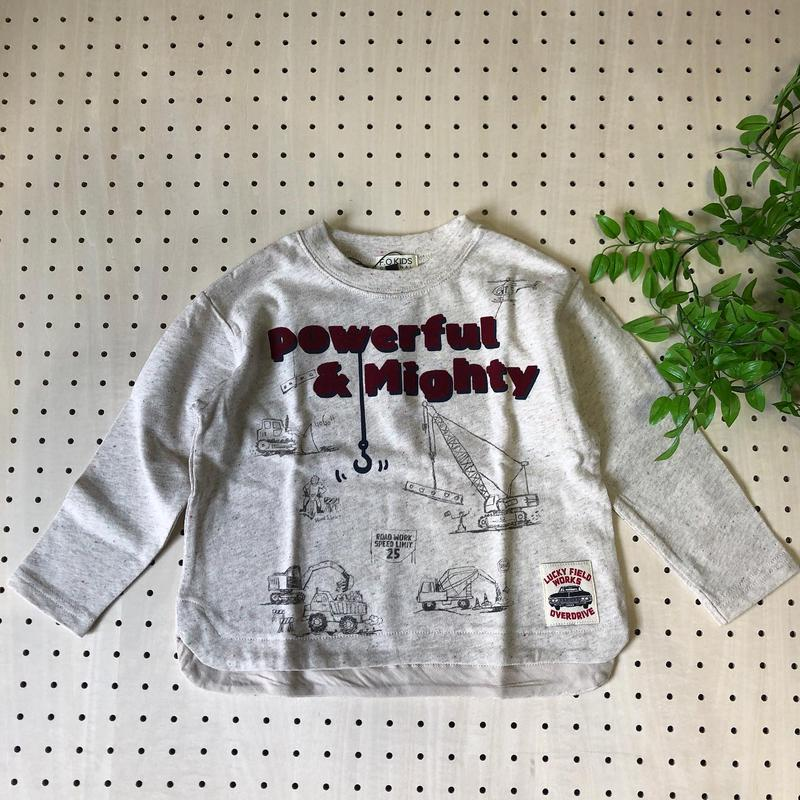 働くシリーズ◎プリントTシャツ100-120