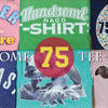 handsome 75 tee-shirts