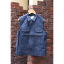 TONSURE : DENIM VEST