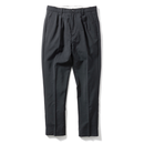 Name. : WOOL MOHAIR TROPICAL TAPERED TROUSERS