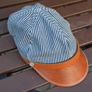 boncoura ボンクラ帽 インディゴヒッコリー