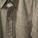 boncoura インディゴグレンチェックBDシャツ