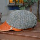 boncoura ボンクラ帽 デッドストックツイード グレー