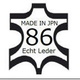 ① MADE IN JPN 86 leather