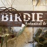 Birdie botanical design