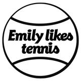 Emily likes tennis's STORE