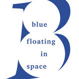 Blue Floating In Space