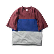 Name. : OVERSIZED TRICOLOR TEE