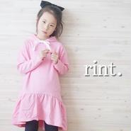 *3月16日12:00発売*リボンパーカーワンピース ピンク《90~130》