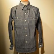 boncoura ワークシャツ シャンブレー(indigo)