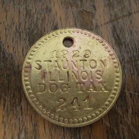 1929 Dog Tag :No.241