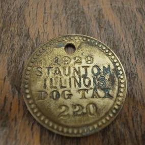 1929 Dog Tag :No.220