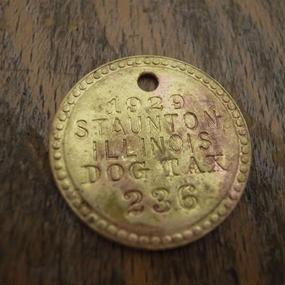 1929 Dog Tag :No.236