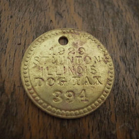 1929 Dog Tag :No.394
