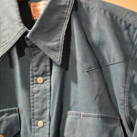 BONCOURA サマーコールテンウェスタンシャツ
