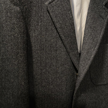 boncoura ブルーツイード・テーラリング3Bジャケット