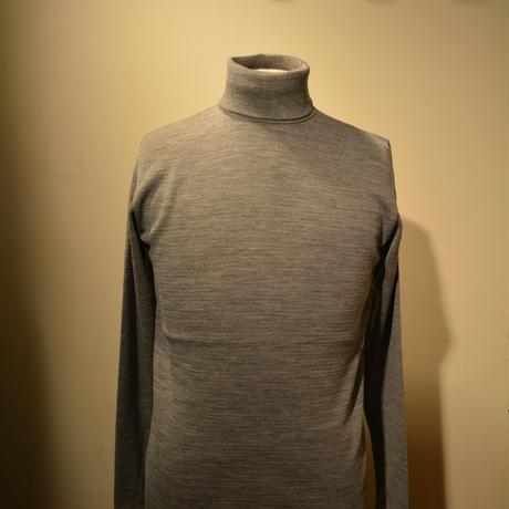 boncoura タートルネックセーター グレー