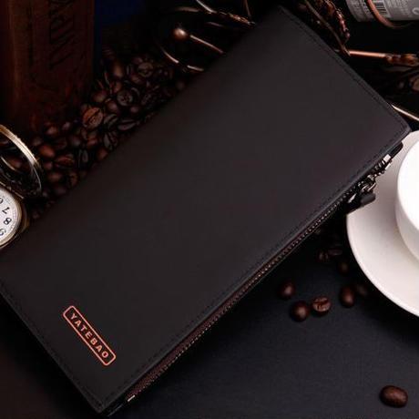 メンズPUレザー財布カードケース