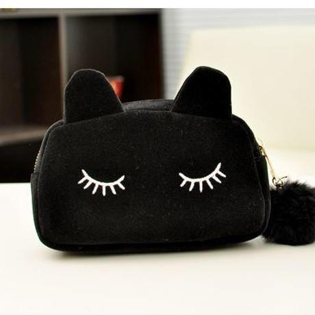 可愛い 猫さんポーチ 化粧ポーチ
