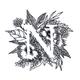NEMA(ネーマ)- イニシャルや星座のデザインの刺しゅうハンカチ