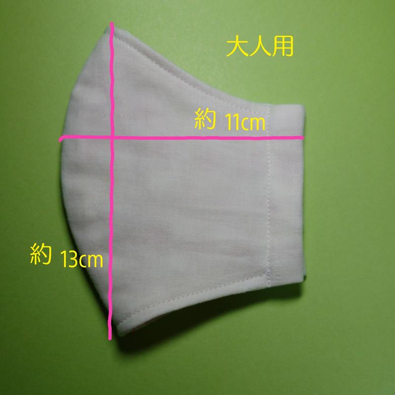 マスク 上下 立体 向き 立体マスク(表裏あり、上下方向なしタイプ)
