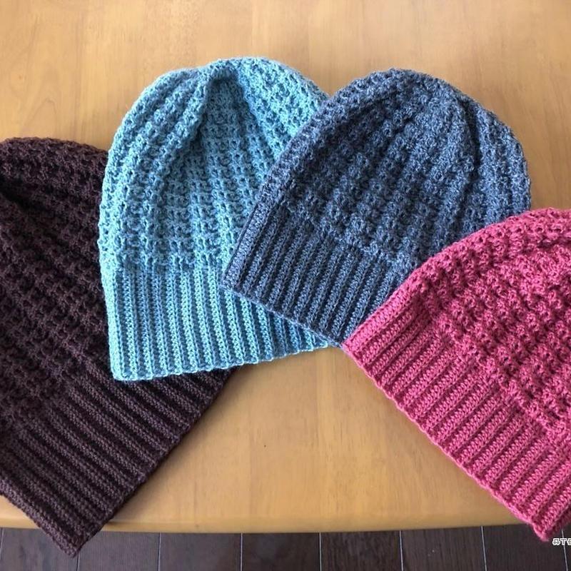 ニット 棒針 編み 大人 帽子 方 の の 帽子の編み方5選!初心者でも簡単に手編みができる!